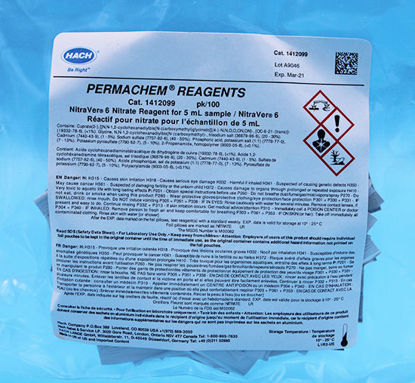 Picture of PK(100/pk) - H-14120-99 - Nitrate Reagent, NitraVer® 6, PP for 5 ml Sample (H1412099)
