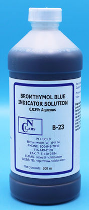 Picture of B-23 - Bromothymol Blue Indicator Solution, 0.02% Aqueous (B23)