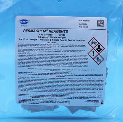 Picture of PK(100/pk) - H-21061-69 - Nitrate Reagent, NitraVer® 5, PP for 10 ml Sample (H2106169)