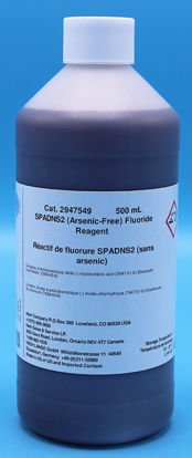 Picture of 500 ml - H-29475-49 - SPADNS Reagent for Fluoride, Arsenic-Free (H2947549)
