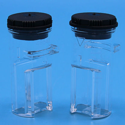 Picture of PK(2/pk) - H-48643-02 - Sample Cell w/ Cap, 1 cm, 10 ml (H4864302)