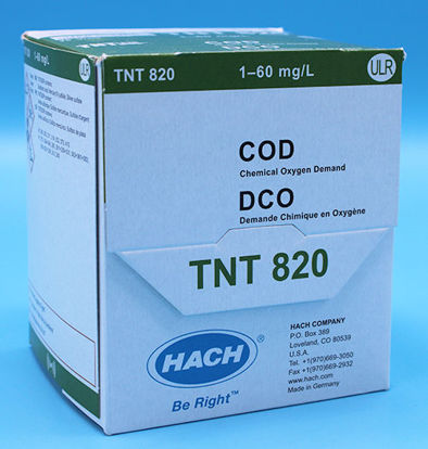 Picture of PK(25/pk) - H-TNT820 - COD TNTplus Vial Test, ULR, 1.0-60 mg/l (HTNT820)