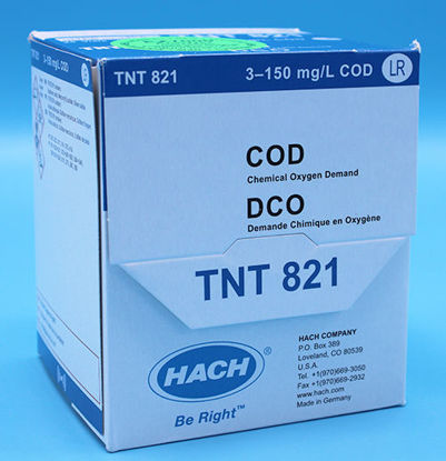 Picture of PK(25/pk) - H-TNT821 - COD TNTplus Vial Test, LR, 3-150 mg/l (HTNT821)