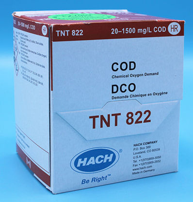 Picture of PK(25/pk) - H-TNT822 - COD TNTplus Vial Test, HR, 20-1500 mg/l (HTNT822)