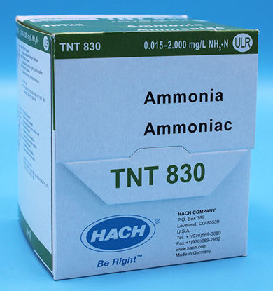 Picture of PK(25/pk) - H-TNT830 - Ammonia TNTplus Vial Test, ULR, 0.015-2.0 mg/l (HTNT830)