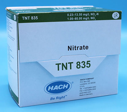 Picture of PK(25/pk) - H-TNT835 - Nitrate TNTplus Vial Test, LR, 0.2-13.5 mg/l (HTNT835)
