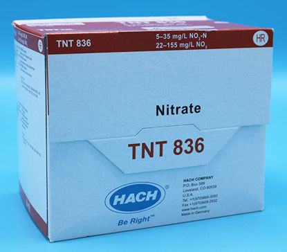 Picture of PK(25/pk) - H-TNT836 - Nitrate TNTplus Vial Test, HR, 5-35 mg/l (HTNT836)