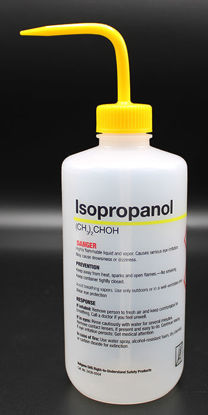 "Picture of BN-711IS - 500 ml Right-to-Know Wash Bottle, Labeled ""Isopropanol"" (BN711IS)"