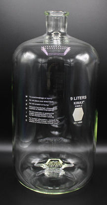 Picture of EA - BK-790 - 9000 ml Glass Storage Bottle, Kimax (BK790)