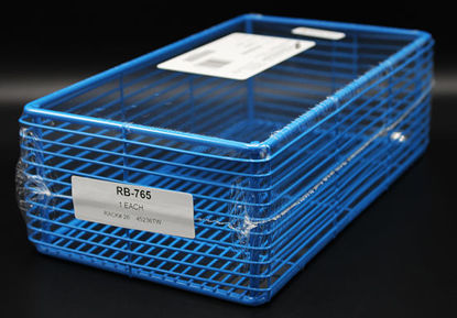 "Picture of EA - RB-765 - Epoxy-Coated Steel Wire Basket, 11"" x 6"" x 3.5"" (RB765)"