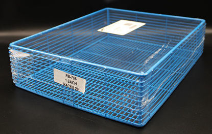 "Picture of EA - RB-766 - Epoxy-Coated Steel Wire Basket, 14"" x 11"" x 3.5"" (RB766)"
