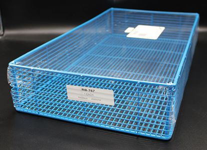 "Picture of EA - RB-767 - Epoxy-Coated Steel Wire Basket, 20"" x 11"" x 3.5"" (RB767)"