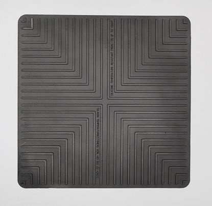 "Picture of EA - MB-250 - 10"" x 10"" Black Lab Safety Mat (MB250)"