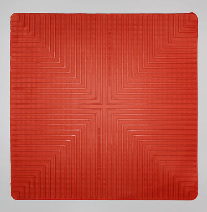 "Picture of EA - MR-350 - 14"" x 14"" Red Lab Safety Mat (MR350)"