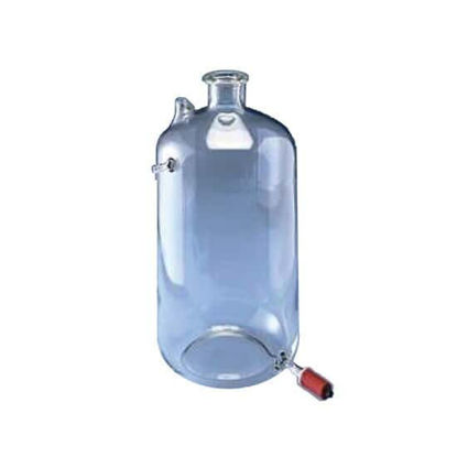 Picture of EA - SB-413934 - 3.5 Gallon Glass Storage Bottle w/ Stopcock for Mega-Pure MP-3A and 6A Stills (SB413934)