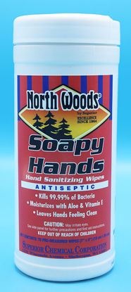 Picture of NW-540 - Soapy Hands Hand Wash Wipes (NW540)