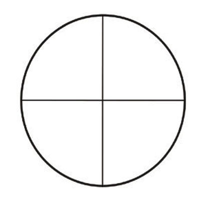 Picture of EA - MC-371 - Crossline Reticle for Eyepiece (MC371)