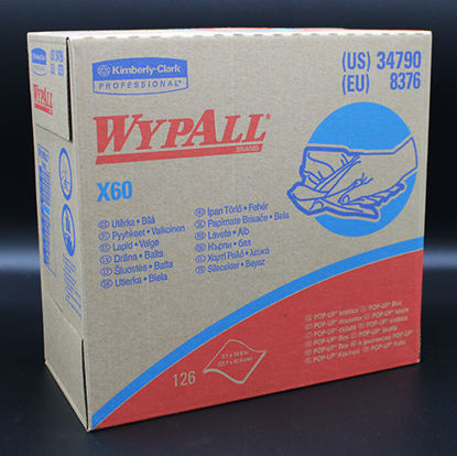 """Picture of KT-790 - WypAll X60 Teri-Reinforced Wipers, 9⅛"""" x 16¾"""" (KT790)"""
