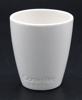 Picture of CC-510 - Coors #60151 Perforated CruciblePorcelain Crucible (CC510)