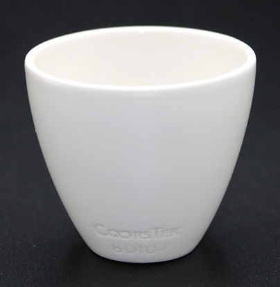 Picture of CC-519 - Coors #60107 Solid Bottom Porcelain Crucible (CC519)