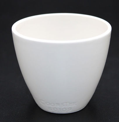 Picture of CC-521 - Coors #60109 Solid Bottom Porcelain Crucible (CC521)