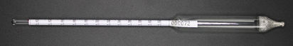 Picture of EA - HE-1400 - Hydrometer w/ Specific Gravity Scale 1.400-1.620 (HE1400)
