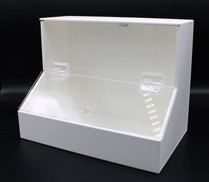 """Picture of EA - BF-220 - Top-Load Dispensing Bin w/ 2 Compartments, 9.25"""" x 7.5"""" x 11.75"""" (BF220)"""