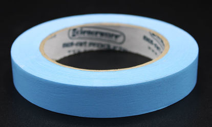 "Picture of LV-103B - ¾"" x 40 yd Blue Autoclave Labeling Tape (LV103B)"