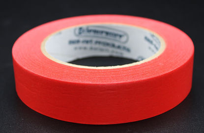 "Picture of LV-104R - 1"" x 40 yd Red Autoclave Labeling Tape (LV104R)"