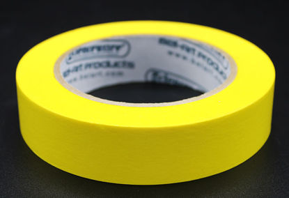 """Picture of LV-104Y - 1"""" x 40 yd Yellow Autoclave Labeling Tape (LV104Y)"""