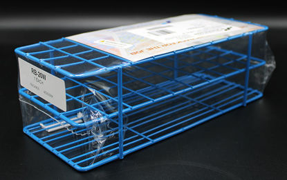 Picture of EA - RB-20W - Wire Test Tube Rack w/ 40 Openings for 20 mm Tubes (RB20W)