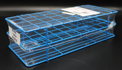 Picture of EA - RB-25W - Wire Test Tube Rack w/ 40 Openings for 25 mm Tubes (RB25W)
