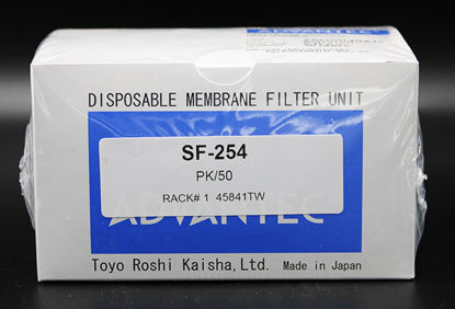 Picture of PK(50/pk) - SF-254 - Cellulose Acetate Syringe Filter, 0.45 μm, 25 mm (SF254)