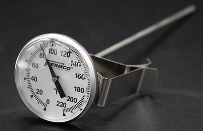 "Picture of EA - TD-22F - Dial Thermometer w/ 1¾"" Dial and 8"" Stem, 0 to 220°F (TD22F)"