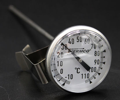 "Picture of EA - TD-11C - Dial Thermometer w/ 1¾"" Dial and 8"" Stem, -10 to 110°C (TD11C)"