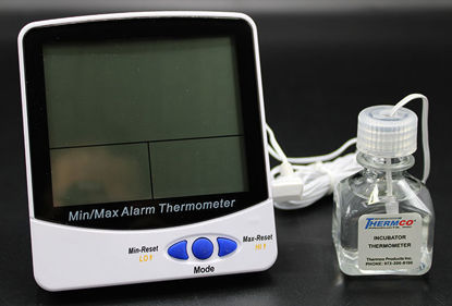 Picture of EA - I-895 - Large-Display Digital Remote Certified Thermometer, Certified at 37°C (I895)