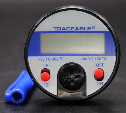 "Picture of EA - TC-449 - Digital Dial Thermometer w/ 5"" Stem, -50 to 150°C, NIST (TC449)"