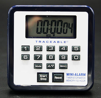 Picture of EA - TC-558 - 100-Hour Alarm Timer w/ Memory, NIST (TC558)