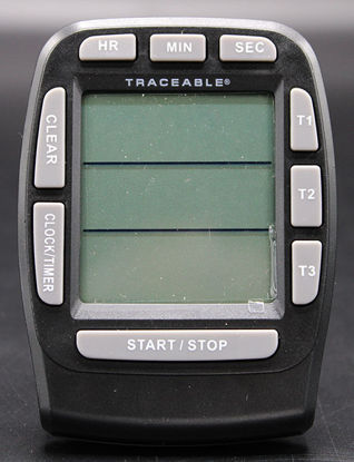 Picture of EA - TC-555 - Traceable® 3-Channel 100-Hour Alarm Timer w/ Stopwatch, NIST (TC555)