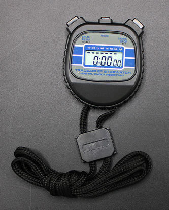 Picture of EA - SC-104 - Water- and Shock-Resistant 24-Hour Stopwatch, NIST (SC104)