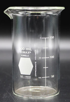 Picture of BK-350T - 200 ml Tall-Form Glass Beaker, Kimax (BK350T)