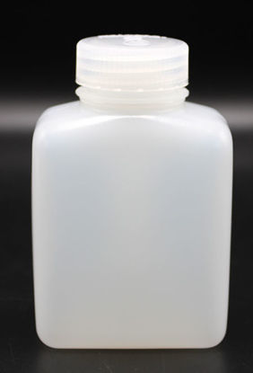 Picture of BN-731 - 250 ml Wide-Mouth Rectangular HDPE Bottle (BN731)