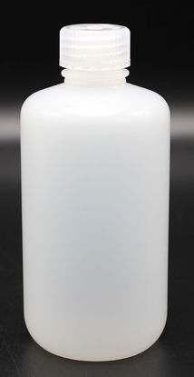 Picture of BN-411 - 250 ml Narrow-Mouth Round HDPE Bottle (BN411)
