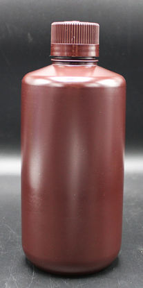Picture of BN-433 - 1000 ml Amber Narrow-Mouth Round HDPE Bottle (BN433)
