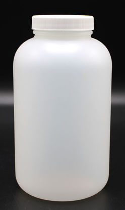Picture of B-663 - 750 ml Plastic Wide-Mouth Bottle w/ Screw Cap (B663)