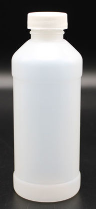 Picture of B-629 - 250 ml Plastic Narrow-Mouth Bottle w/ Screw Cap (B629)