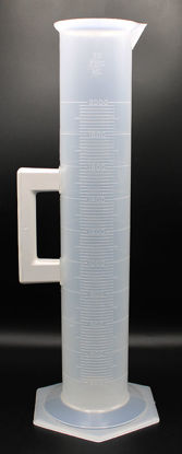Picture of EA - CP-577 - 2000 ml Plastic Graduated Cylinder w/ Handle (CP577)