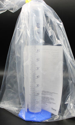 Picture of EA - CN-584 - 100 ml Autoclavable PP Graduated Cylinder (CN584)