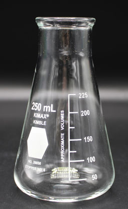 Picture of FK-862 - 250 ml Wide-Mouth Erlenmeyer Flask, Kimax (FK862)