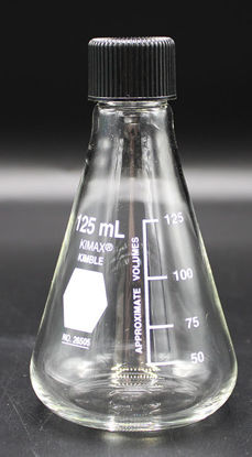 Picture of FK-262 - 125 ml Screw Cap Erlenmeyer Flask (FK262)
